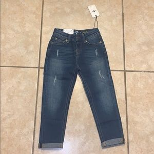 7 for all mankind jeans for girls size 6x NWTs